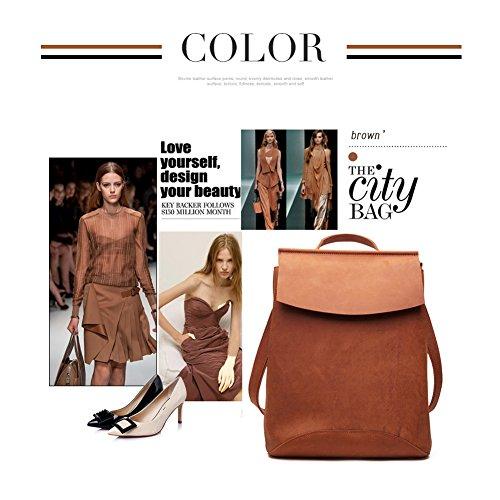 Da l Borsa Pelle 8625 horse Casual A l marrone 8625 brown In Donna Tracolla Spalla Crazy Yoome Fashion HF6n8fB