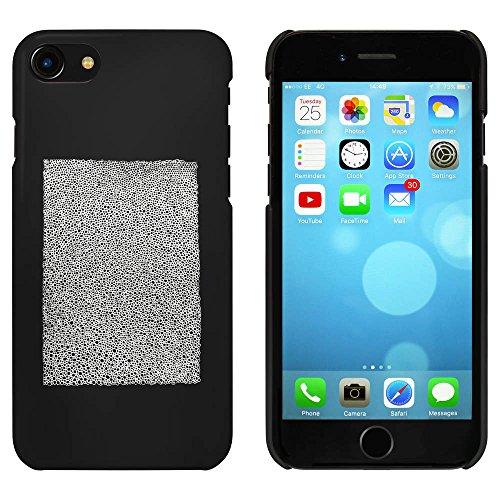 Noir 'Texture Pavée' étui / housse pour iPhone 7 (MC00062525)