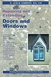 Repairing and Extending Doors and Windows, , 1468465597
