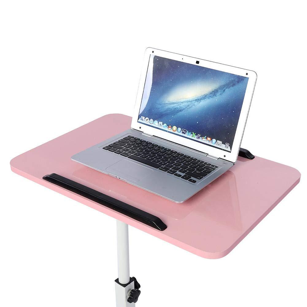 Blau multifunktionaler Abnehmbarer Laptop-Schreibtisch mit R/ädern Fan Bed Sofa Books Snack Wosume Abnehmbarer Laptop-Schreibtisch