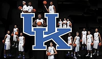 NCAA Kentucky Wildcats Men's Basketball Poster