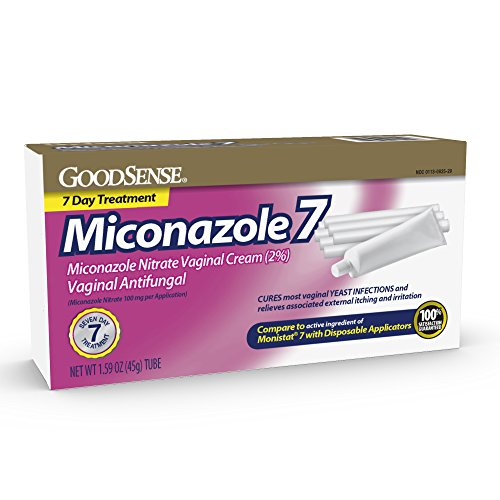 - GoodSense Miconazole Nitrate Vaginal Cream (2%) & 7 Disposable Applicators