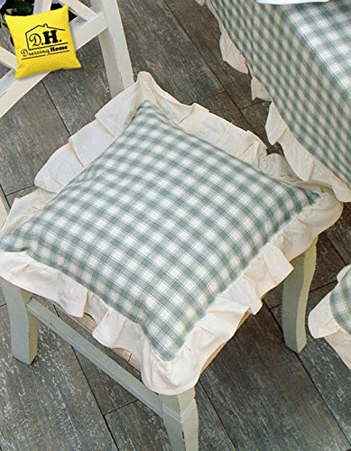 BLANC MARICLO\' COPRI CUSCINO COUNTRY BASIC VERDE: Amazon.it: Casa e ...