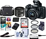 Canon EOS M50 Mirrorless Camera with EF-M 15-45mm f/3.5-6.3 is...