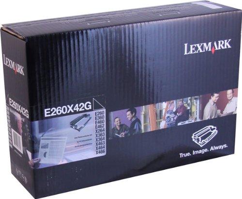 Lexmark Photoconductor Kit For E260, E360 and E460 Series Printers - E260X42G