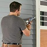 Dap 18275 DYNAFLEX 230 Premium Elastomeric Interior and Exterior Sealant, 10.1 oz, White, 10 Ounces