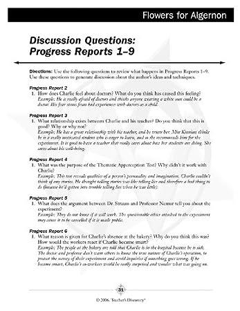 flowers for algernon discussion questions pdf