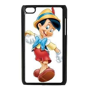 ipod 4 Black phone case Classic Style Disney Cartoon Pinocchio WHD8978554
