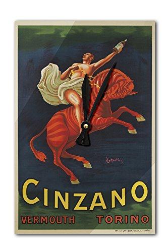 cinzano-vermouth-vintage-poster-artist-leonetto-cappiello-spain-c-1910-acrylic-wall-clock