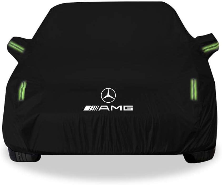 Mercedes ML AMG Modellauto Bekleidung Autoplanen Sonnencreme Regenschutz Car Cover Jacket Cover Four Seasons Universal Verdickung Sonnenschutz Auto Jacken Schutzkleidung Yapin Mercedes