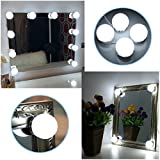 B-right Make Up Vanity Mirror Lights Kit Hollywood Style...