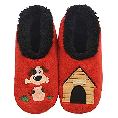 Snoozies Pairables Womens Slippers - House Slippers - Dog House