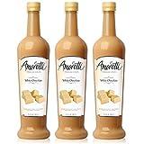 Amoretti Premium White Chocolate Syrup 750ml 3 Pack