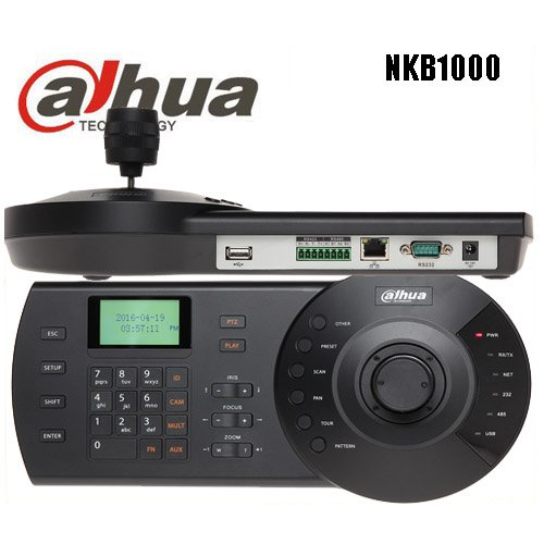 Dahua NKB1000 PTZ Camera Controller with 3D (Pan Tilt Zoom) Joystick keyb for Dahua CCTV High Speed camera