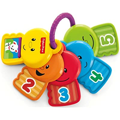 Fisher-Price Count and Explore Keys: Toys & Games
