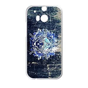 Creative Skull High Quality Custom Protective Phone Case Cove For HTC M8