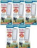 Hagen 15-Pack Marina Slim Aquarium Water Filter with Zeolite Plus Ceramic Cartridge