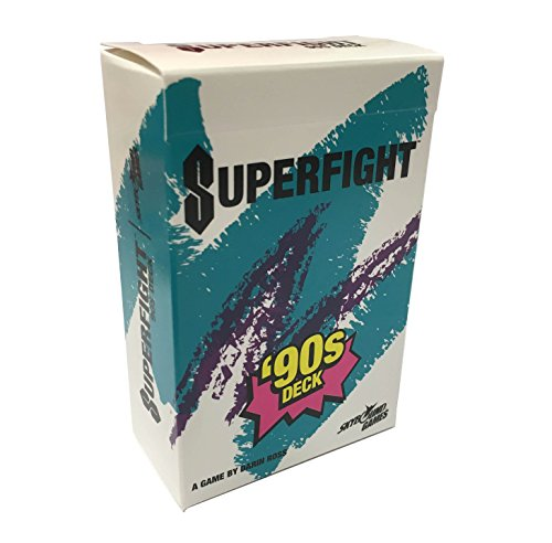 SkyBound SUPERFIGHT Card Game from Entertainment: The 90's Deck
