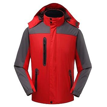 ChenYongPing Chaqueta Impermeable para Hombres Ropa de montaña para Hombre y Mujer Impermeable Chaqueta de esquí