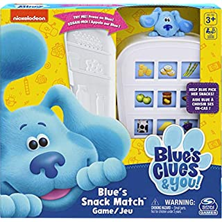 Spin Master Games Nickelodeon Blue's Clues Snack Match Game, Matching Board Game, for Families and Kids Ages 3 and Up (6058525)