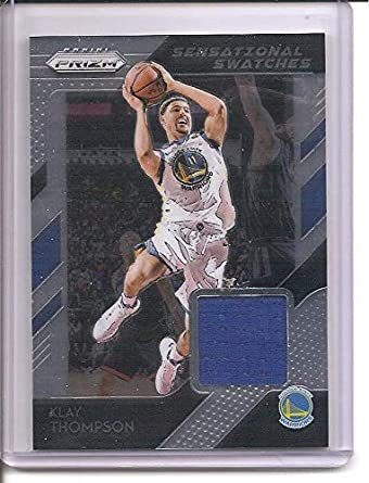 best service 2a014 ea5d9 Klay Thompson Golden State Warriors 2018-19 Panini Prizm ...