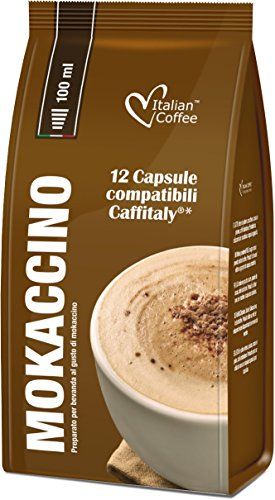 Compatible Systems (12 Mokaccino Cafè mocha drink pods compatible with VERISMO system)