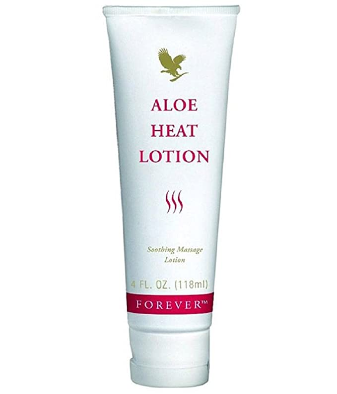 Forever Living Aloe Heat Lotion, 118ml Body Lotions at amazon
