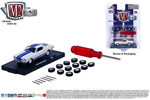 (1965 SHELBY GT350 * Auto-Wheels Release 3 * M2 Machines 2015 Castline Premium Edition 1:64 Scale Die-Cast Vehicle Kit ( R03 15-14 ))