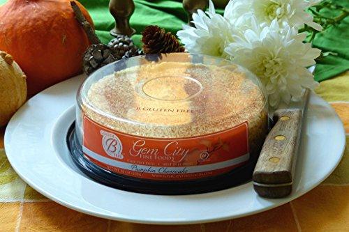 Pumpkin Cheesecake (Gluten Free Cheesecake) by Gem City Fine Foods