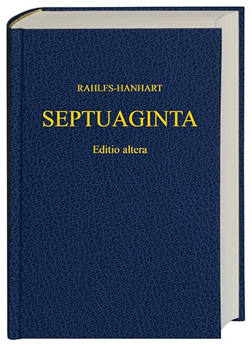 Download Septuaginta (Greek Edition) pdf