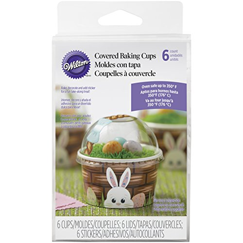 415-7904 Wilton Easter Basket Baking Cups, 6-Count