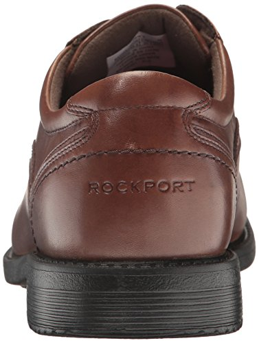 Rockport Mens Style De Chef 2 Orteil Tablier Tan Truffe Oxford