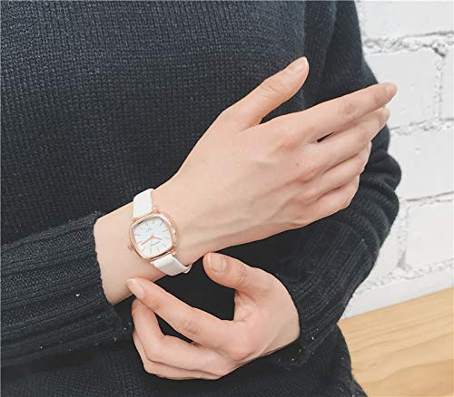 Antiquity Over fire Watch Women Girls Students Unique Retro Fashion Girls Square (Vaginal Discharge (Send Box + Battery)