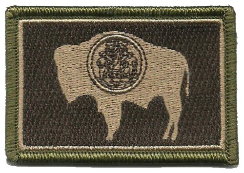 Tactical State Patch - Wyoming (Multitan)