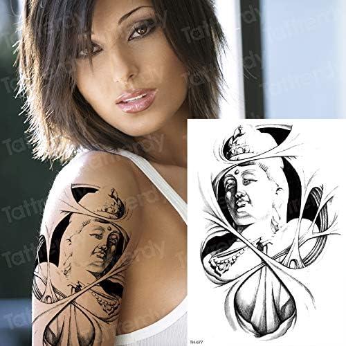 tzxdbh 3 unids/Lote Tatuaje Temporal Dioses griegos mitología ...
