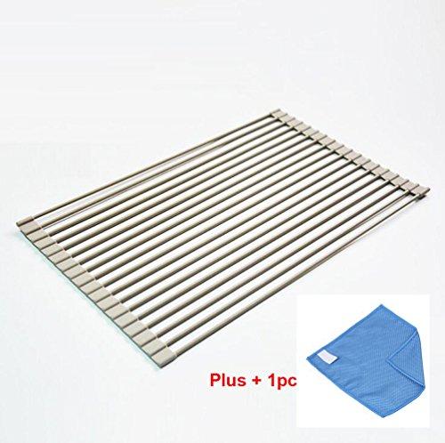 Ecoss Multipurpose Roll-Up Dish Drying Rack - Premium Qualit