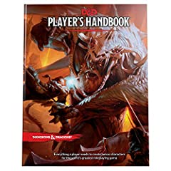 Create heroic characters for the world's greatest roleplaying game. The Player's Handbook is the essential reference for every Dungeons & Dragons roleplayer. It contains rules for character creation and advancement, backgrounds and skill...