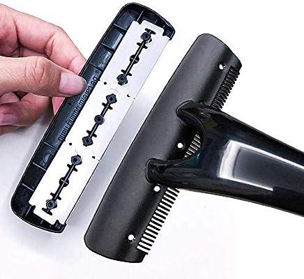Afeitadora de espalda con 8 cuchillas de afeitar y bolsa, cabezal extra ancho, protección mediante peine de seguridad, depilación sin dolor, sin cabezas de cuchilla: Amazon.es: Salud y cuidado personal