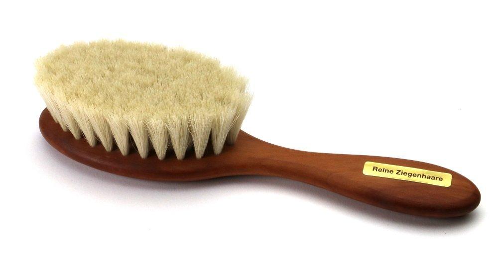 Bébé - Brosse à cheveux douce en bois de poirier -naturelle Kulturgut-Shop