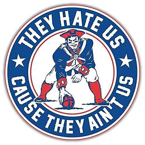 Sport England Patriots NFL Badge Car Sticker Decal 5'' X 5'']()