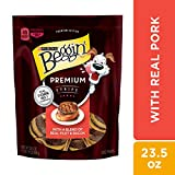 Purina Beggin' Made in USA Facilities Dog Treats, Premium Strips with Real Pork - 23.5 oz. Pouch