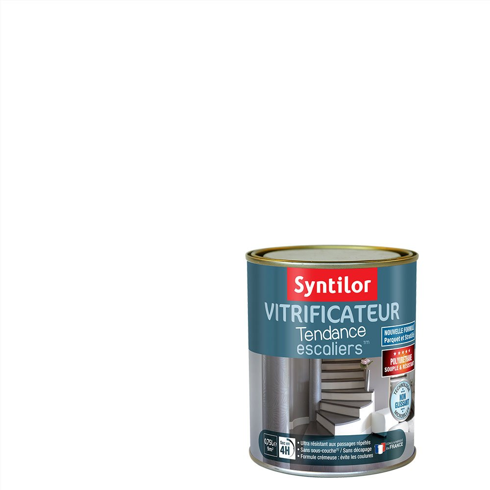 Syntilor - Vitrificateur  Escaliers™ Gris Souris 2L 00080124