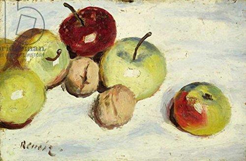 kunst für alle Art Print/Poster: Pierre Auguste Renoir Still Life with Apples and Walnuts c 1865-70