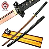 Masahiro - Red Anodized Carbon Steel Katana Sword