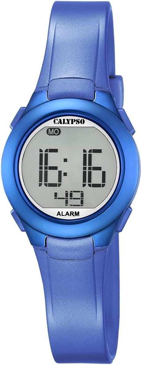 Calypso Reloj Digital para Unisex de Cuarzo con Correa en Plástico K5677/5