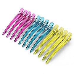 Onedor Plastic & Metal Duckbill Hair Clips