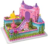 DecoPac Disney Princess Castle Decoset
