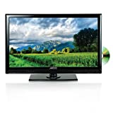 Axess 15.6-Inch LED HDTV, Includes AC/DC TV, DVD Player, HDMI/SD/USB Inputs, TVD1801-15