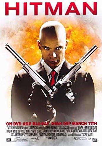 Amazon Com Hitman Poster Movie 27 X 40 Inches 69cm X 102cm