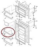 Lifetime Appliance 240338001 Door Bin Shelf Rack